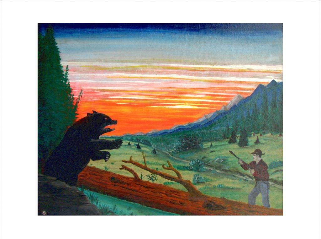 Bear vs. Hunter: Standoff