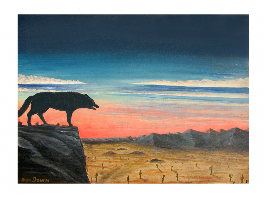 Coyote: Sunset