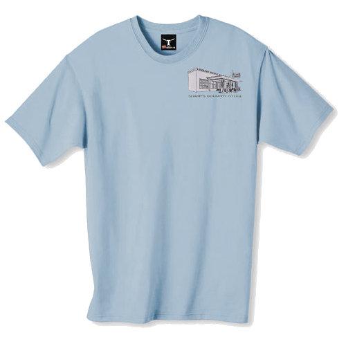 T-Shirt (Stonewashed Blue)